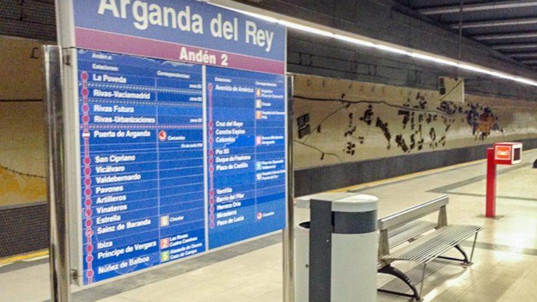 Estación de Metro de Arganda del Rey