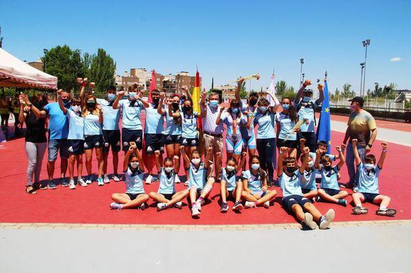 Club Municipal de Arganda en la Ciudad Deportiva