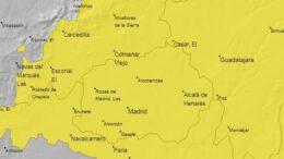 Mapa de la AEMET